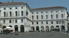 Padua, Palazzo Ragione, Italy Stock Footage