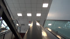 Escalator, Automatic Stairs Stock Footage