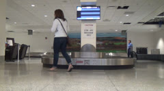 Baggage Claim, Luggage and Suitcases, Carry Ons, 2D, 3D Stock Footage