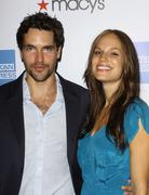 Stock Photo of jackson hurst and actress stacy stas.27th annual macy's passport fashion show