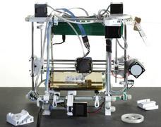 3d printer - stock photo