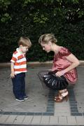 Julie bowen and son oliver mclanahan phillips.march of dimes 4th annual celeb Stock Photos