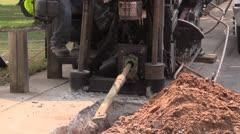Building infrastructure, underground Stock Footage