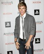 derek hough.maxim and ubisoft celebrate the launch of 'assassin's creed ii' . - stock photo