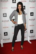 jessica szohr.maxim and ubisoft celebrate the launch of 'assassin's creed ii' - stock photo