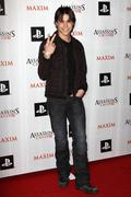 Stock Photo of logan huffman.maxim and ubisoft celebrate the launch of 'assassin's creed ii'