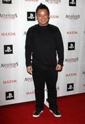 rex lee .maxim and ubisoft celebrate the launch of 'assassin's creed ii' .hel - stock photo