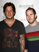 simple plan.maxim and ubisoft celebrate the launch of 'assassin's creed ii' . - stock photo