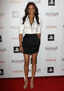 maxim and ubisoft celebrate the launch of 'assassin's creed ii'. - stock photo