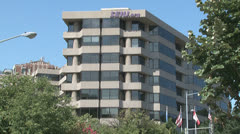 SEIU union headquarters in Washington, D.C. Stock Footage