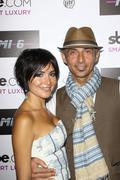 Shaun toub and lorena de fatima mendoza.mi-6 nightclub grand opening party.he Stock Photos
