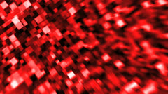 Squares red Stock Footage