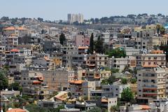 Travel photos of israel - nazareth Stock Photos