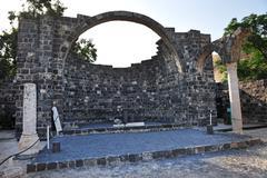 travel photos of israel - sea of galilee - stock photo