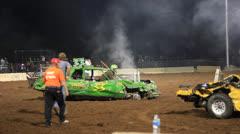 Demolition Derby voittaja! Arkistovideo