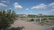 Stock Video Footage of City of Krasnoyarsk (Russia). View of the street Belinsky summer day