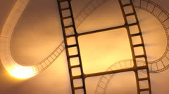 Film Gold Stock Footage