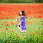 cheerful female - stock photo