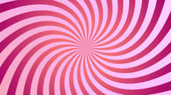 Pink spiral spinning Stock Footage
