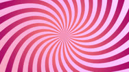 Stock Video Footage of Pink spiral spinning
