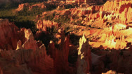 Stock Video Footage of Bryce Canyon Sunrise 07 Hoodoos at Sunrise Point