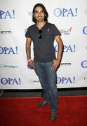 "Akbar kurtha.virtual premiere and simulcast of ""opa!"".held at the mann chines Stock Photos"