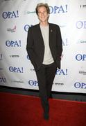 "matthew modine.virtual premiere and simulcast of ""opa!"".held at the mann chin - stock photo"