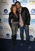 """Stock Photo of karina smirnoff and gilles marini.oxygen tv and ubisoft celebrate """"your shape"""