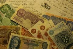 UK old money 2 Stock Illustration