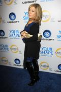 Stock Photo of oxygen tv and ubisoft celebrate 'your shape' featuring jenny mccarthy.