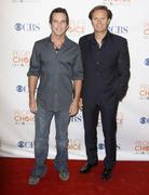 Jeff probst and mark burnett .people's choice awards 2010 - nomination announ Stock Photos