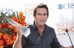 Jeff probst.people's choice awards 2010 - nomination announcement press confe Stock Photos