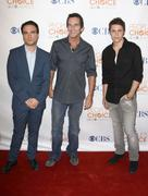 Johnny galecki, jeff probst,  kris allen.people's choice awards 2010 - nomina Stock Photos