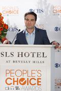 Johnny galecki.people's choice awards 2010 - nomination announcement press co Stock Photos
