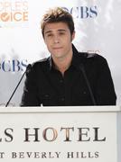 kris allen.people's choice awards 2010 - nomination announcement press confer - stock photo