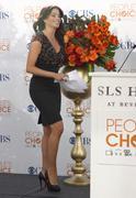 sofia vergara.people's choice awards 2010 - nomination announcement press con - stock photo