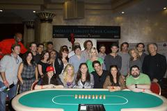 "Stock Photo of children's institute hosts ""poker for a cause"" celebrity poker tournament ins"