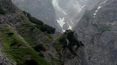 Alps - Under the Dachstein peak - 02 Stock Footage