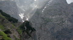 Alps - Under the Dachstein peak - 01 Stock Footage
