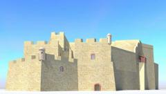Castillo de San Pedro de la Roca Stock Footage