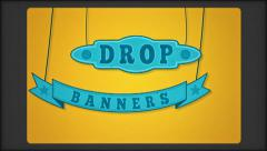 Stock After Effects of Drop Banners