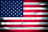 Stock Illustration of american flag