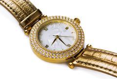 Gold  watch Stock Photos