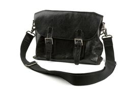 Leather bag Stock Photos