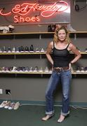 Stock Photo of sheree j. wilson.sheree j. wilson visits the ed hardy shoe wearhouse.held at