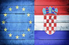 European country croatia Stock Photos