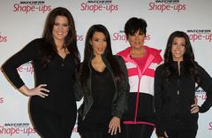 skechers shape-ups announces global partnership with kim kardashian and kris  - stock photo