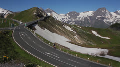 Alps - Grossglockner Alpine Road - 15 Stock Footage