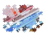 Stock Photo of euro puzzle