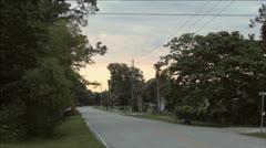 Florida Road Stock Footage